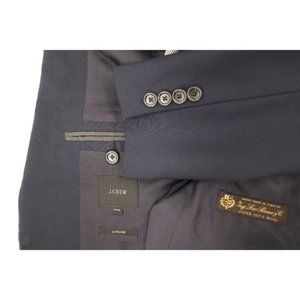 J. Crew men's 38S loro piana super 120s wool coat